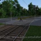 Achtung Menschen im Gleisbereich