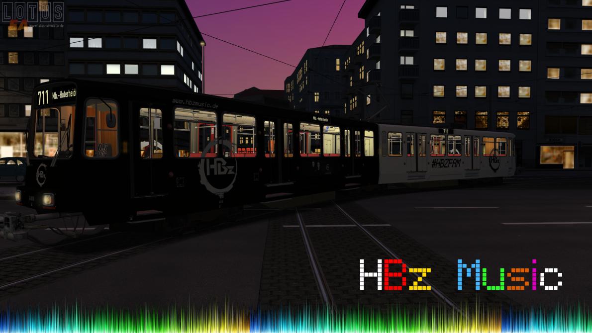 Mit der HBz Werbung durch Düsseldorf