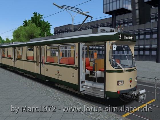 Sonnenburg V2 - Großraumwagen-Ersatzverkehr