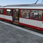 Volle Bahn