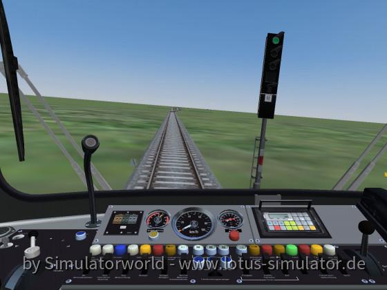 Stadtbahn Strecke auf Diorama