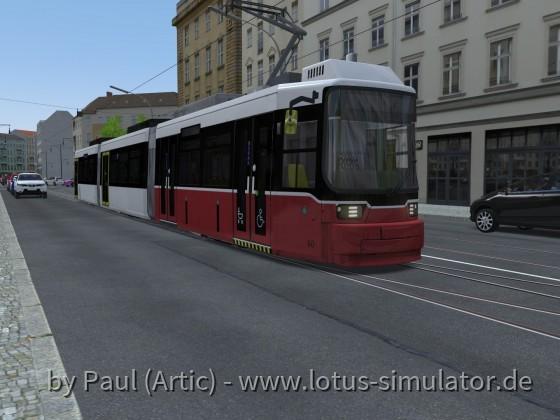GT6N Modernisiert Wiener Linien