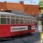 3601 – Erster Einmannwagen und leckere Hamburger am Hamburger