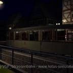 Alte Bahn in der alten Stadt