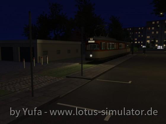 Nachts in Bürgel