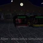 Ein Bus aus Hamburg und einer aus Leverkusen treffen sich...