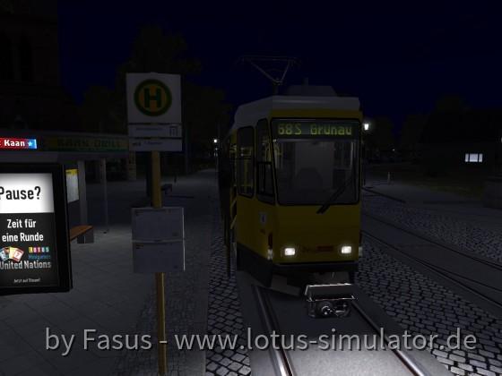 Berlin Linie 68, (H) Alt-Schmöckwitz, Linie 68 Richtung: S Köpenick via S Grünau