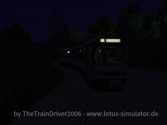 Nachts in Lörick