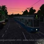 Tram 2000 mal auf Sonnenburg V2