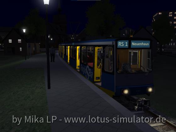 Nordwestbahn auf Diorama