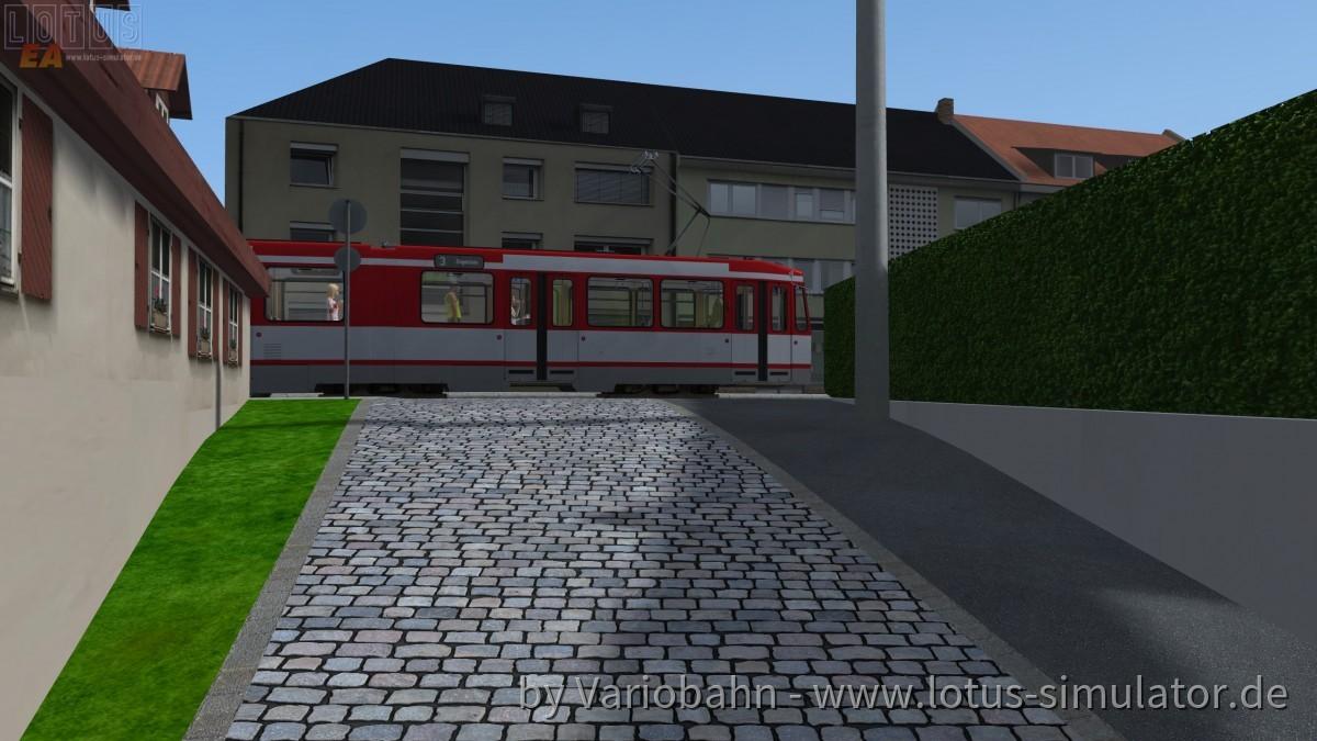 DÜWAG N6S in Nürnberg Mögeldorf