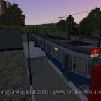 Auf Erfurt mal mit der Tram 2000 in der Abenddämmerung fahren ist auch sehr schön