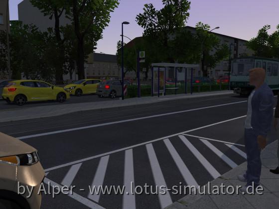 Erste Testfahrt für einen Stadtbahnwagen...