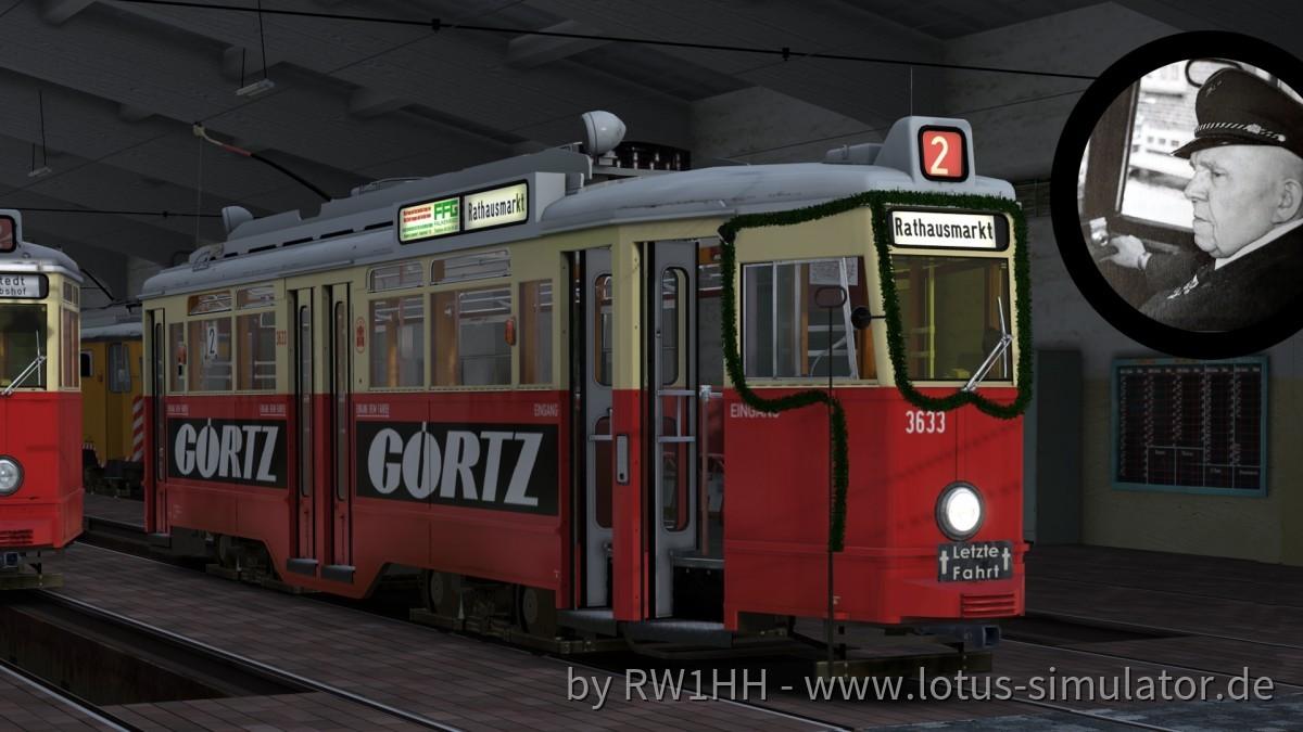 3633 – der letzte Planwagen der Linie 2