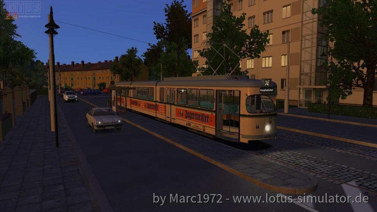 Sonnenburg V2 - Busersatzverkehr