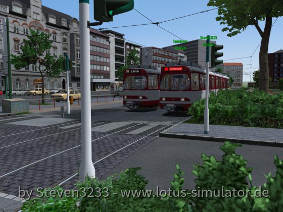 Kleine MP-Testfahrt auf Düsseldorf