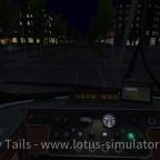 Abendlich beleuchtetes Armaturenbrett im GT8