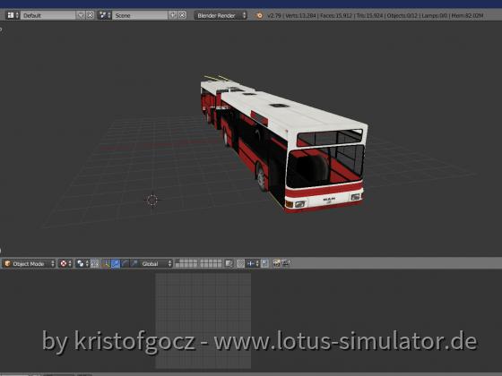 MAN NGE152 Trolleybus Budapest (WIP)
