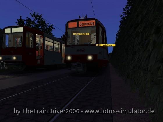 2 B-Wagen im Multiplayer (Düsseldorf)