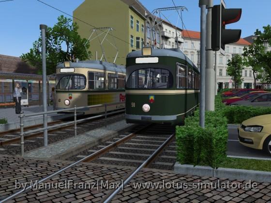 Der neue Bahnhof in Altstedt