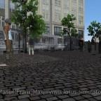 Ein Marktplatz wird belebt