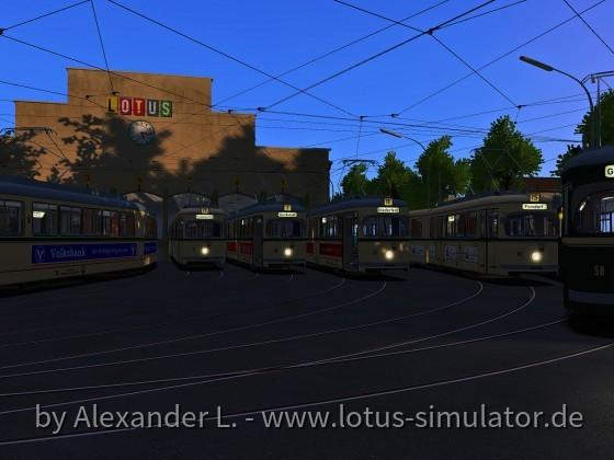 Betriebsbeginn in Sonnenburg