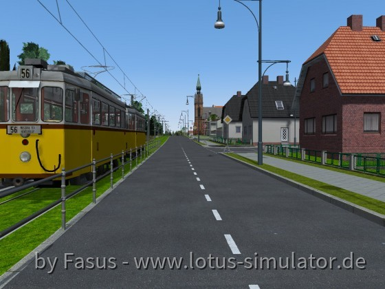 Alte Waldbahn V1.1, (H) Plauen Wald, Tramlinie Richtung: Forsthausen