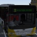 Ein A37 auf dem Weg zum Betriebshof Koblenz Hafenbahn mit Masken Info
