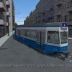 Tram 2000 auf Klein Neustadt mal am Fahren