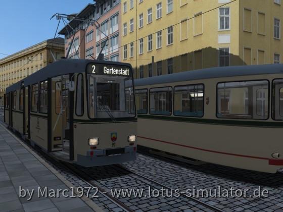 """Sonnenburg V2 - auf der """"2"""" nach Gartenstadt"""