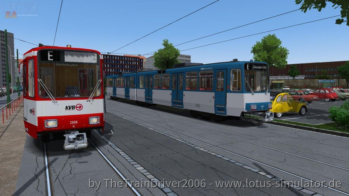 Zwei B-Wagen am HBF