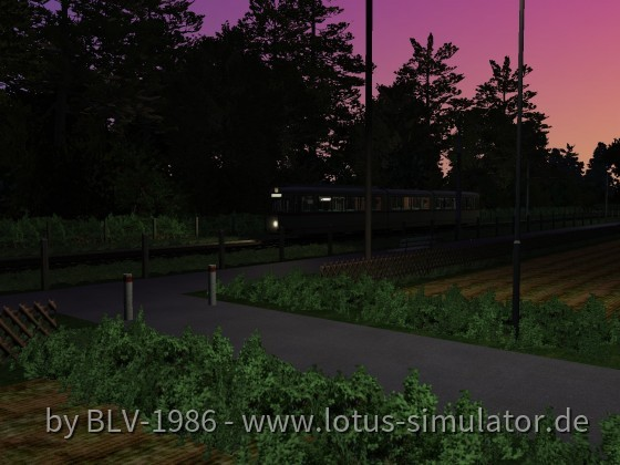 Und es ging weiter auf Karlsbach, eine kleine letzte Testfahrt am Abend