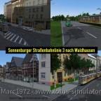 Sonnenburg V2 - Linie 3 ist fertig