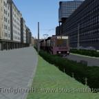 Linie 12. Einzelwagen. Hauptbahnhof.