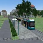 Neuer Streckenabschnitt nach Rumpenheim