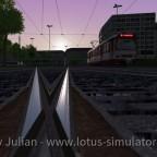 Die Fahrt in den Sonnenaufgang
