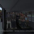 Gemütliche Sitze im DL