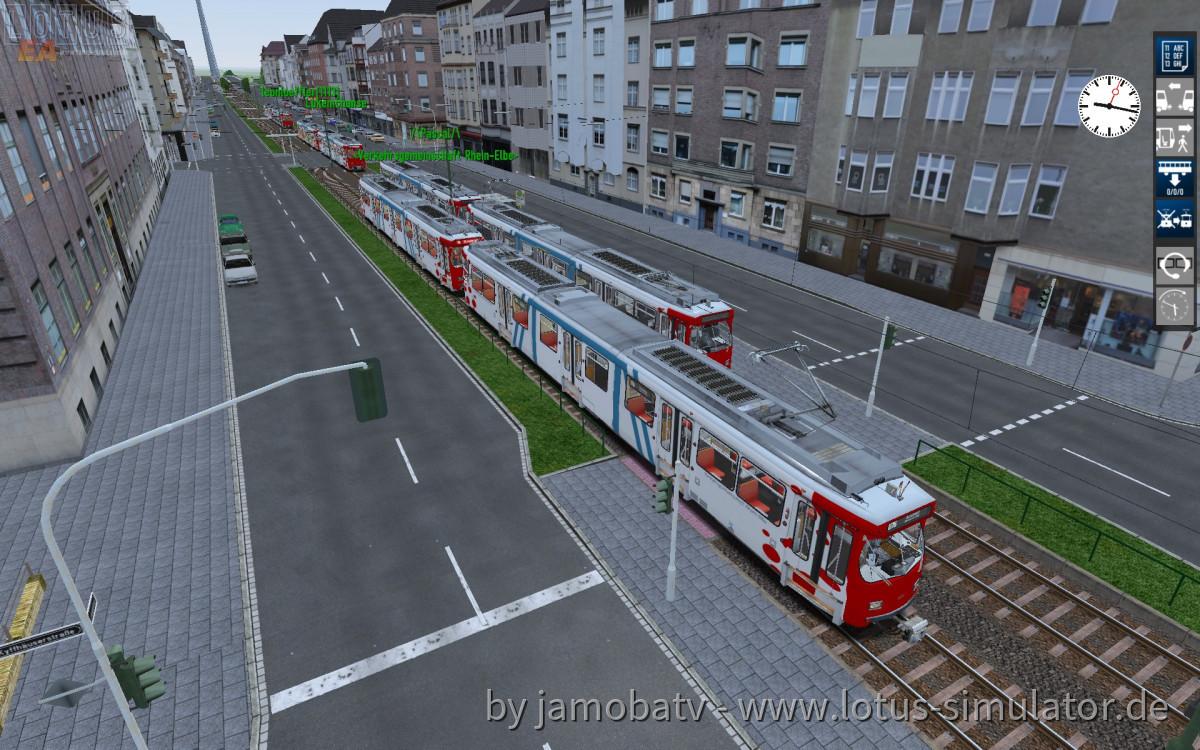 Die VRE auf Leitstellenfahrt - Stau am Luegplatz