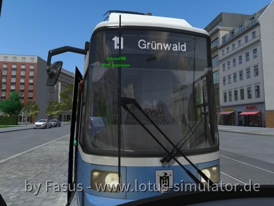 Ficta-Minga, (H) Grünwald, Bavariafilmplatz, Linie 19 Richtung: Grünwald