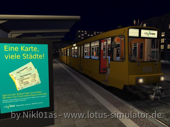 Die SSB Stuttgart als Leihfahrzeug bei der CityBus in Koblenz