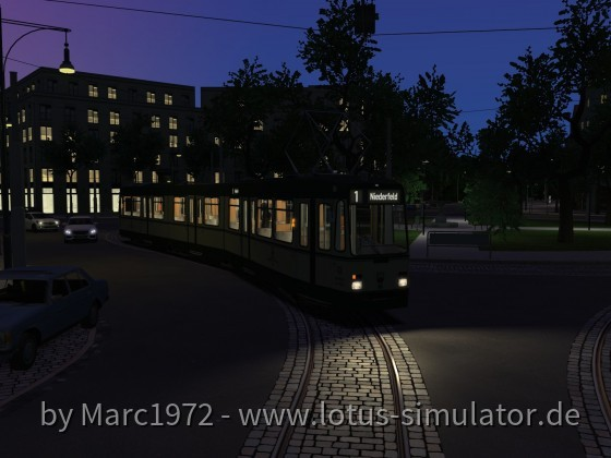 Sonnenburg V2 - Abendstimmung am Rothhauser Platz