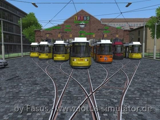 Diorama, am Betriebshof im Multiplayer