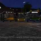 Bus-Treffen auf Diorama