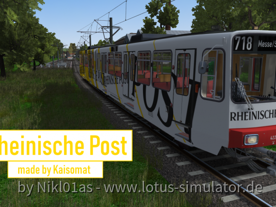 Die Rheinische Post rollt an...