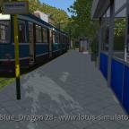 Mit der Bahn durch die Karte Kirschtalbahn von A nach B