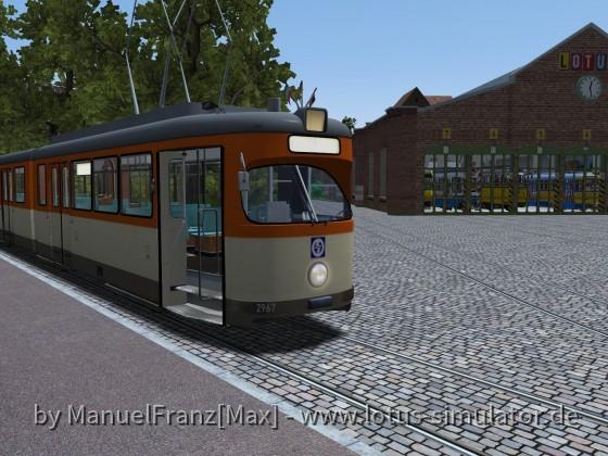 Das Niederkasseler Straßenbahnmuseum