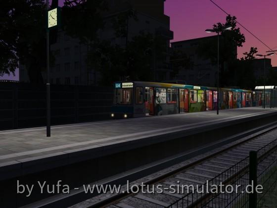 Frühdienst auf der Stadtbahn