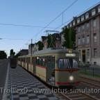 Mit dem GT8 zum Hauptbahnhof...